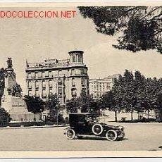 Postales: MADRID PASEO DE LA CASTELLANA MONUMENTO A CASTELAR. ED. FOTOTIPIA HAUSER Y MENET. Nº 31 SIN CIRCULAR. Lote 13039605