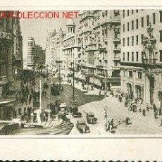 Postales: MADRID, VISTA PARCIAL DE LA AVENIDA DE JOSE ANTONIO. Lote 20545730