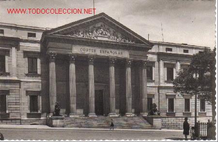 Madrid Palacio De Las Cortes Parlamento