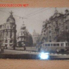 Postales: MADRID, EL FENIX, DESDE LA CALLE DE ALCALA. Lote 26490065
