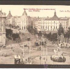 Postales: MADRID.CALLE DE ALCALÁ. FOTOTIPIA CASTAÑEIRA ÁLVAREZ Y LEVENFELD 682. Lote 27370231