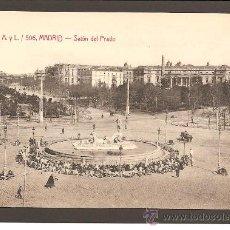 Postales: MADRID.SALÓN DEL PRADO. FOTOTIPIA CASTAÑEIRA, ÁLVAREZ Y LEVENFELD, 506. Lote 27330871