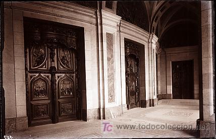 CLICHE ORIGINAL - MADRID, NEGATIVO EN CRISTAL - EDICIONES ARRIBAS (Postales - España - Comunidad de Madrid Antigua (hasta 1939))