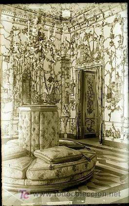 CLICHE ORIGINAL - ARANJUEZ, NEGATIVO EN CRISTAL - EDICIONES ARRIBAS (Postales - España - Comunidad de Madrid Antigua (hasta 1939))