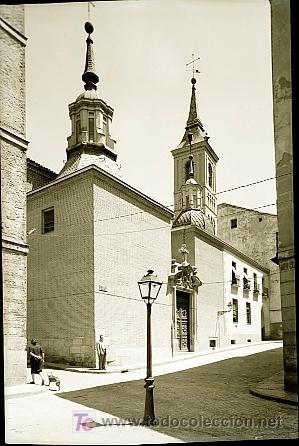 CLICHE ORIGINAL - MADRID, NEGATIVO EN CELULOIDE - EDICIONES ARRIBAS (Postales - España - Comunidad de Madrid Antigua (hasta 1939))