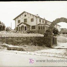Postales: CLICHE ORIGINAL - LOS MOLINOS (MADRID), NEGATIVO EN CRISTAL - EDICIONES ARRIBAS. Lote 9971679