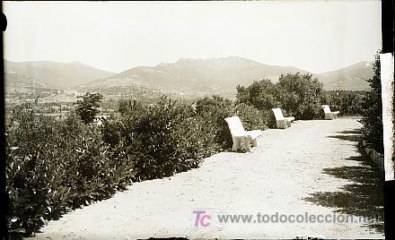CLICHE ORIGINAL - LOS MOLINOS (MADRID), NEGATIVO EN CRISTAL - EDICIONES ARRIBAS (Postales - España - Comunidad de Madrid Antigua (hasta 1939))