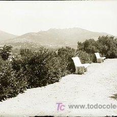 Postales: CLICHE ORIGINAL - LOS MOLINOS (MADRID), NEGATIVO EN CRISTAL - EDICIONES ARRIBAS. Lote 9971686