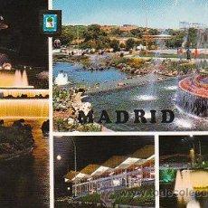 Postales: MADRID, PARQUE DE ATRACCIONES, CIRCULADA VER DORSO. Lote 10173958