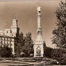 Postales: ANTIGUA POSTAL SERI I NUM 4027 MADRID PLAZA COLON Y SU MONUMENTO CIRCULADA 1956. Lote 10185336