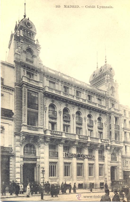 Madrid edificio de credit lyonnais postal bl comprar for Edificio de la comunidad de madrid