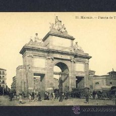 Cartes Postales: POSTAL DE MADRID: PUERTA DE TOLEDO (LACOSTE NUM.31) (ANIMADA). Lote 10297834