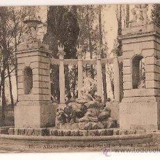 Postales: ANTIGUA POSTAL 13 ARANJUEZ JARDIN DEL PRINCIPE FUENTE DE APOLO. Lote 10346849