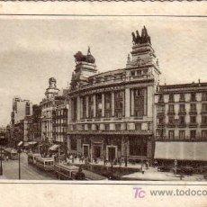Postales: MADRID - EDIFICIO DEL BANCO DE BILBAO - ED. GARCIA GARABELLA. Lote 23069622
