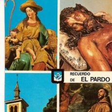 Postales: POSTAL A COLOR Nº 15 CONVENTO DE PP CAPUCHINOS EL PARDO FOTO DOMINGUEZ ED ESCUDO ORO. Lote 10571586