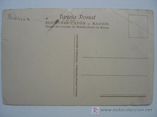 Postales: MADRID - CASA DE LA PRENSA. PLAZA DEL CALLAO - Foto 2 - 10564418