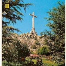 Postales: POSTAL A COLOR Nº 42 SANTA CRUZ DEL VALLE DE LOS CAIDOS LA CRUZ DETALLE ESCUDO ORO CIRCULADA 1972. Lote 10585563