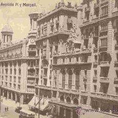Postales: MADRID - AVENIDA PI Y MARGALL. Lote 10709152