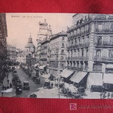 Postales: MADRID - CALLE DE SEVILLA. Lote 10882151