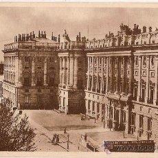Postales: ANTIGUA POSTAL 2 MADRID PALACIO NACIONAL FOTOTIPIA HAUSER Y MENET. Lote 10905562