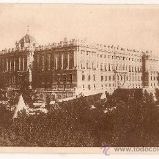 Postales: ANTIGUA POSTAL 49 MADRID PALACIO NACINAL FOTOTIPIA HAUSER Y MENET. Lote 10905576