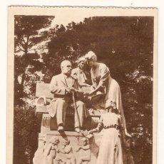 Postales: ANTIGUA POSTAL 52 MADRID RETIRO MONUMENTO A CAMPOAMOR FOTOTIPIA HAUSER Y MENET. Lote 10905592