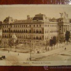 Postales: MADRID - MINISTERIO DE FOMENTO. Lote 24257658