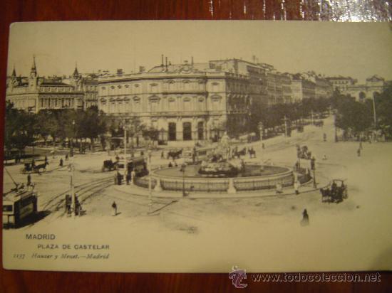 MADRID - PLAZA DE CATELAR (Postales - España - Comunidad de Madrid Antigua (hasta 1939))