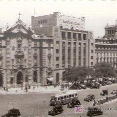 Postales: POSTALES ANTIGUAS MADRID - IGLESIA DE SAN JOSE Y CALLE DE ALCALA - ANTERIOR A 1957 (POSTAL SIN CIRCU. Lote 27009435