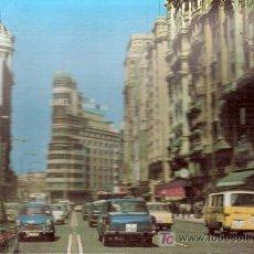 Postales: POSTALES ANTIGUAS MADRID - AVENIDA JOSE ANTONIO - ANTERIOR A 1957 (POSTAL SIN CIRCULAR). Lote 26494774