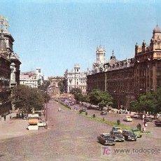 Postales: POSTALES ANTIGUAS MADRID - CALLE DE ALCALA - 1965 (POSTAL SIN CIRCULAR). Lote 27122197