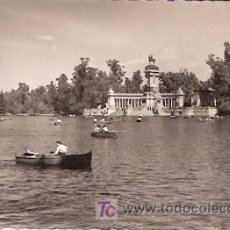 Postales: POSTALES ANTIGUAS MADRID - PARQUE DEL RETIRO - ANTERIOR A 1957 (POSTAL SIN CIRCULAR). Lote 23806245