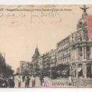 Postales: MADRID. PALACIO DE LA UNIÓN Y EL FÉNIX ESPAÑOL Y CALLE DE ALCALÁ. (FOT. LACOSTE). . Lote 11536552