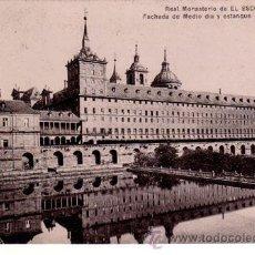 Postales: Nº 499 POSTAL MADRID EL ESCORIAL ESTANQUE DE LA HUERTA. Lote 27131217