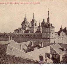 Postales: Nº 470 POSTAL MADRID EL ESCORIAL. Lote 27131220