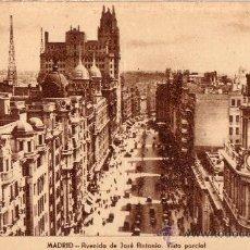 Postales: MADRID - ARRIBAS - AVENIDA DE JOSE ANTONIO. VISTA PARCIAL. Lote 11652590