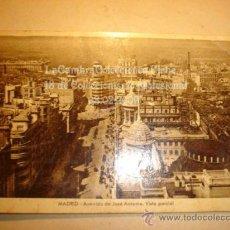 Postales: ANTIGUA POSTAL DE MADRID, CON SELLO DE FRANCO.. Lote 11866461
