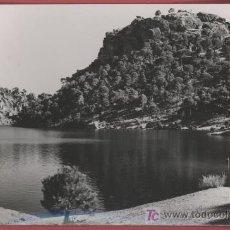 Postales: PANTANO DE SAN JUAN - SAN MARTÍN DE VALDEIGLESIAS - 1965. Lote 26321840