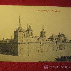 Postales: MADRID - EL ESCORIAL - MONASTERIO. Lote 12485383
