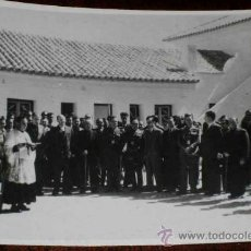 Postales: ANTIGUA FOTOGRAFIA INEDITA DE SAN MARTIN DE LA VEGA (MADRID . AÑOS 40 -INAUGURACION DE LA CASA CUART. Lote 12584412