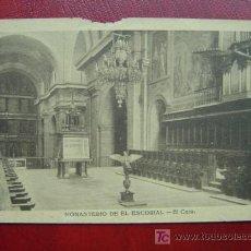 Postales: MONASTERIO DEL ESCORIAL. Lote 12685852