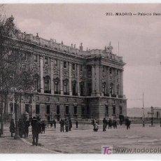 Postales: TARJETA POSTAL DE MADRID Nº 203. PALACIO REAL. T.G. MADRID. Lote 13081301