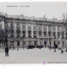 Postales: TARJETA POSTAL DE MADRID Nº 202. PALACIO REAL. T.G. MADRID. Lote 13081327