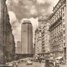 Postales: MADRID - AVENIDA DE JOSE ANTONIO - POSTAL CIRCULADA. Lote 23658737