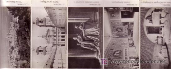 Postales: ALBUM EL ESCORIAL EN MINIATURA 9X5,5 CM DIEZ POSTALES - Foto 4 - 27279641