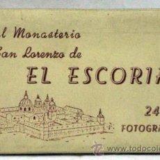 Postkarten - 24 postales acordeón Monasterio San Lorenzo Escorial Ed Manipel funda tamaño 9 cm x 5,5 cm - 13544669