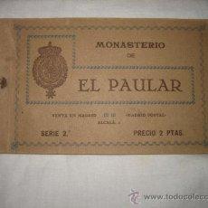 Postales: MONASTERIO EL PAULAR SERIE 2 LIBRO CON OCHO POSTALES. Lote 17868291