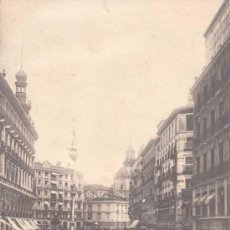Postales: MADRID- CALLE DE SEVILLA. Lote 13986793