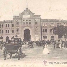 Postales: MADRID- PLAZA DE TOROS. Lote 13986961