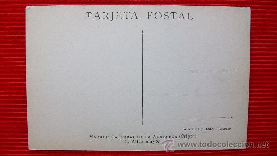 Postales: MADRID - LA ALMUDENA - Foto 2 - 14034755